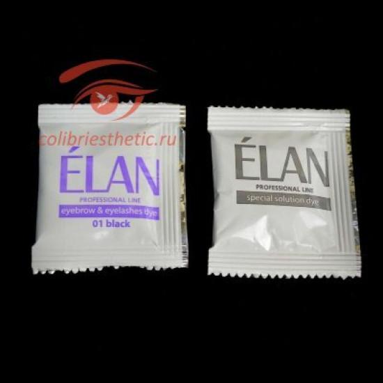 Гель краска Elan саше 5 гр + окислитель 5г