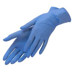 Перчатки нитриловые микрошероховатые с высокой чувствительностью (XS) SUNVIV 100шт
