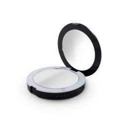 Зеркало карманное с подсветкой и зарядкой для телефона BESPECIAL