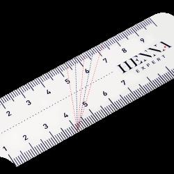 Линейка для идеальной разметки бровей HENNA EXPERT
