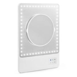 Визажное зеркало с LED-подсветкой, креплением для смартфона и bluetooth Riki Skinny от Glamcor