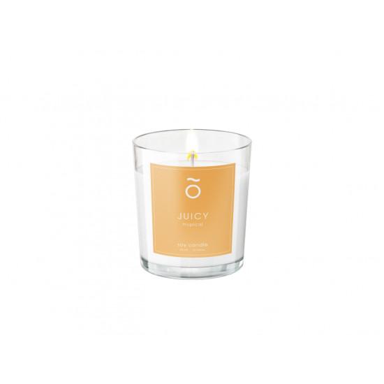 Арома-свеча Emocean с соевым воском JUICY (Tropical), 60 мл