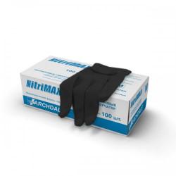 Перчатки нитриловые, химически устойчивые (L) NITRIMAX
