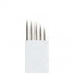 Скошенная мульти игла пластик (17 игл)