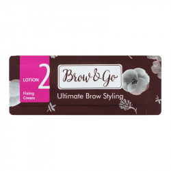 Состав для стайлинга бровей №2 Brow&Go Fixing Cream, саше 1 мл