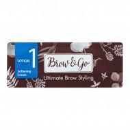 Состав для стайлинга бровей №1 Brow&Go Softening Cream, саше 1 мл