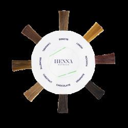 Диаграмма цвета Henna Refresh